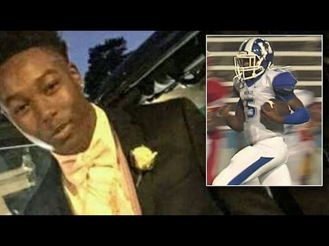 Family Of High School Quarterback Accepts His Diploma Days After He Was Killed