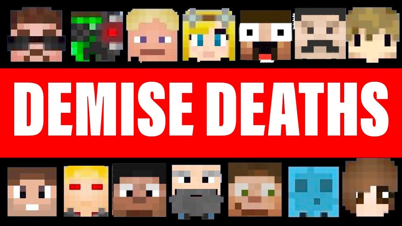 Download Every Single Death In DEMISE (Hermitcraft Season 6) *parts 1-4*
