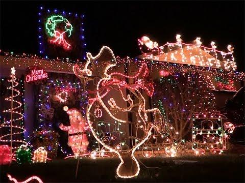 Turlock's Christmas Tree Lane - Turlock's Christmas Tree Lane - YouTube