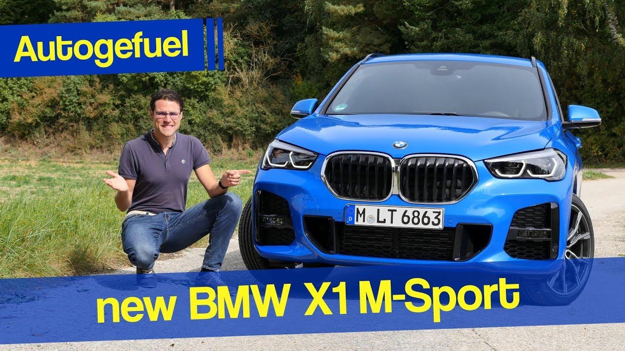 2020 BMW X1 M-Sport REVIEW xDrive - Autogefuel