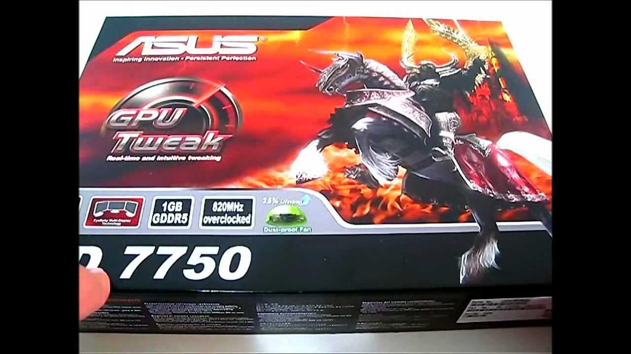ASUS 7750 1GB DDR5 DRIVER WINDOWS XP