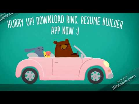 rinc resume builder apps on google play