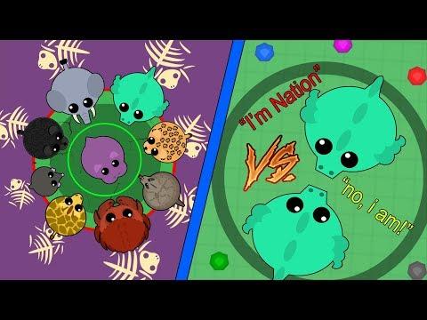 Mope.io BATTLE ROYALE GOD! A sad battle royale life... + Trolling Fan (Mope.io Gameplay)