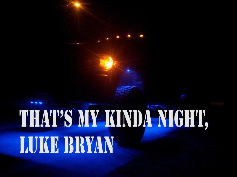Lyric luke bryan song lyrics : That's My Kind Of Night, Luke Bryan Lyrics - YouTube