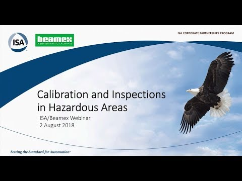 Calibration And Inspections In Hazardous Areas | ISA & Beamex Webinar