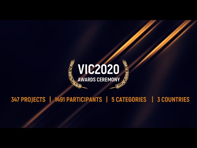 VIC2020 Awards Ceremony - 30th June 2020, 11.00 AM