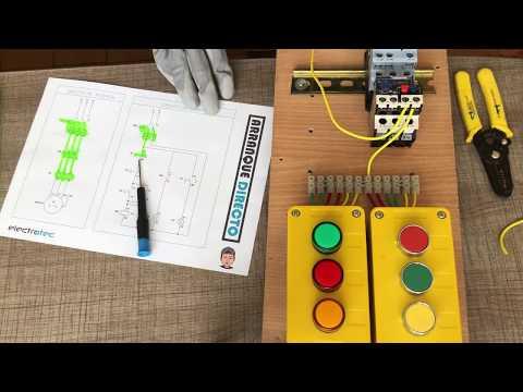 arranque-directo-de-un-motor-trifásico-||-electricidad-industrial
