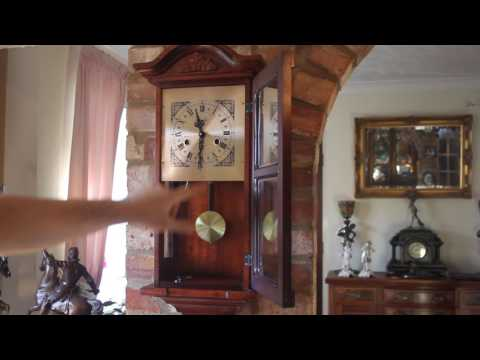 Vintage 'Lincoln' Wall Clock with Chimes