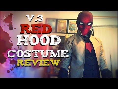 Red Hood V.3 Costume Review | New Helmet |