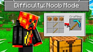 "So I Added a ""Noob Mode"" difficulty to Minecraft..."