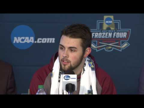 UMD 2, Harvard 1 NCAA Frozen Four semifinal post game (4-6-17)