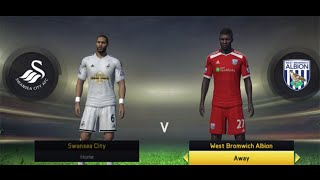 Video Gol Pertandingan Swansea City vs West Bromwich Albion