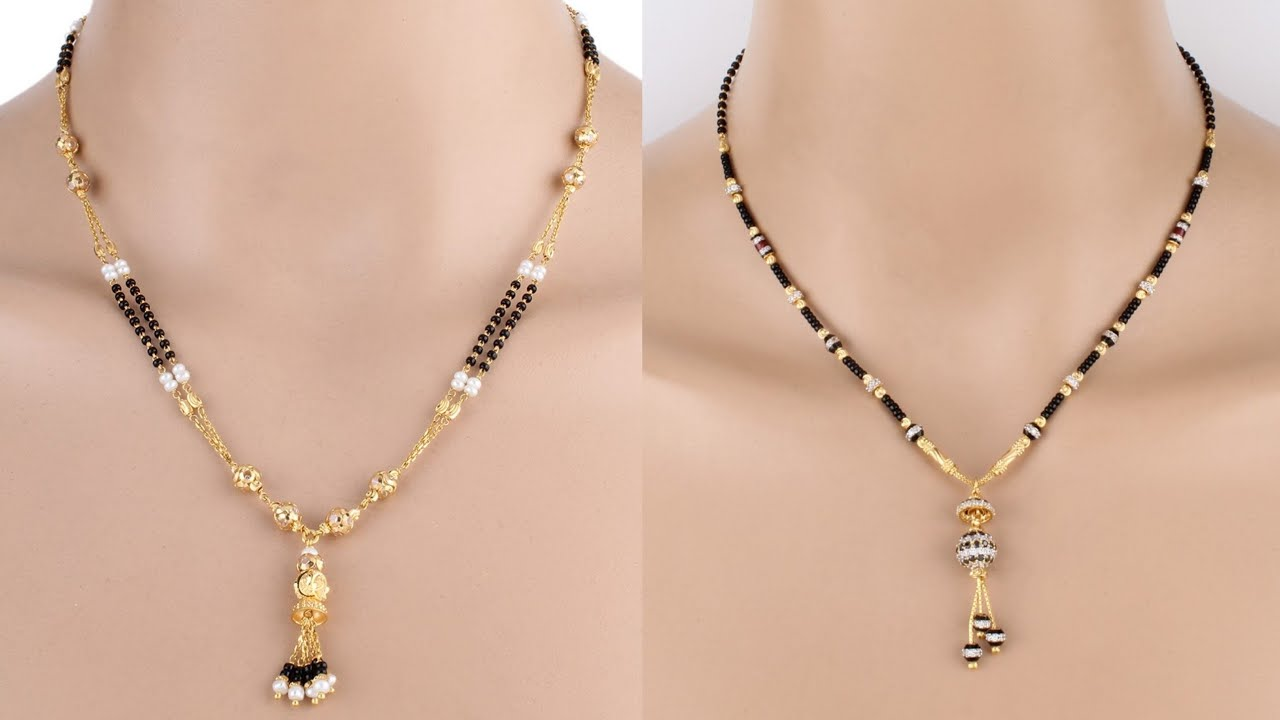 Indian Gold Mangalsutra Designs Images 2018 Today Fashion Gold Jewellery