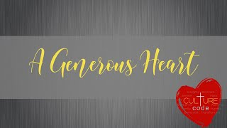 Kingdom House   A Generous Heart   Pastor Rob Meikle   January 10, 2021