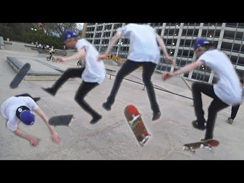 STILL GOT IT! - XQc Goes Skateboarding With Adept