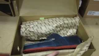 595eb18700 Gravis Rieder Lace Wax Shoes Unboxing - Dark Navy Burnt Henna