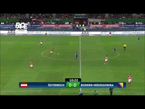 Bosnia Bosna vs Austria HD full match 1st half 2015