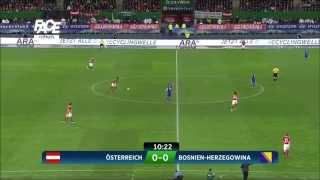 Bosnia Bosna vs Austria HD full match 1st half 2015