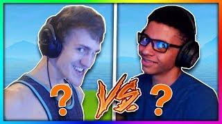 NINJA vs MYTH BATTLE! (WHO WILL WIN?) Fortnite Battle Royale thumbnail