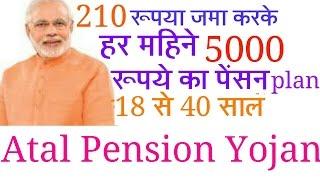 Pradhanmantri atal pension yojana (APY)
