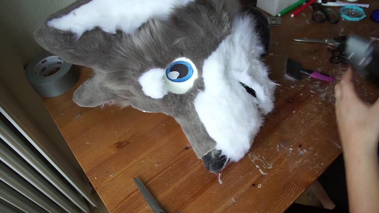 Tutorial 10 Furring The Fursuit Head Base Part 2