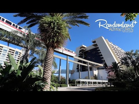 Walt Disney World's Monorail Hotel! The Contemporary & The Peoplemover