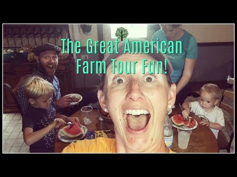 The Great American Farm Tour Comes to Appalachia's Homestead!
