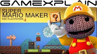 Super Mario Maker on PS4?! Making a Level in LittleBigPlanet 3…