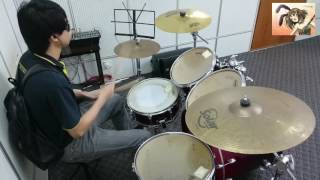 Aya Hirano - God Knows Drum Cover by Powerful Eric. [Anime - The Me...
