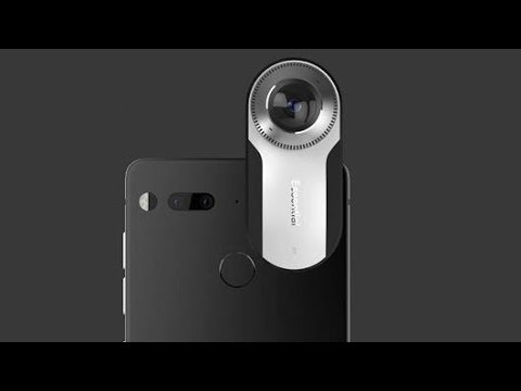 Essential PH-1 Bezel-less SmartPhone Preview By Andy Rubin - Exclusive