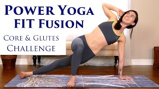 Intense Power Yoga Workout with Julia Marie! Challenge Your Abs & Glutes, Weight Loss, Fitness