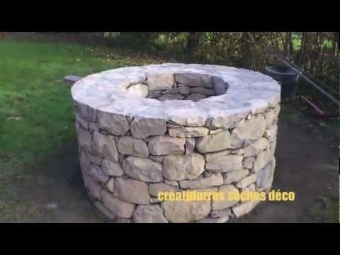 pierres seches deco le puit  YouTube