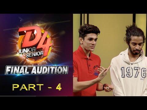 D4 Junior Vs Senior I Final Audition - Part 4 I Mazhavil Manorama