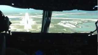 C-17 Tactical Arrival into Key West Naval Air Station