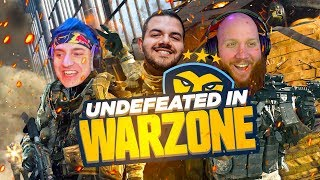 COURAGE, TIM & NINJA GO UNDEFEATED IN CALL OF DUTY WARZONE!
