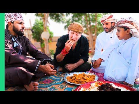 Is This Even HALAL!??! UNSEEN Desert Food of Oman's Bedouin People!!!