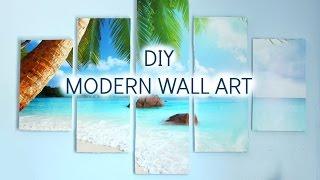 DIY Modern Wall Art