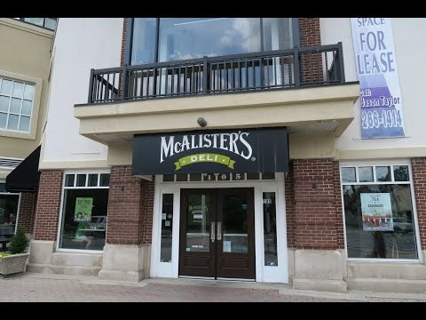 Lunch At McAlister's Deli – Lexington, KY