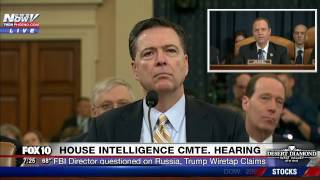 FNN: James Comey Testifies about Russian Interference in Election, Wiretap Claims (PART 1)