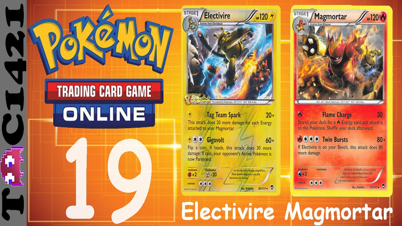 Pokemon TCG Online | Ep 19 | Electivire/Magmortar #TagTeam ...