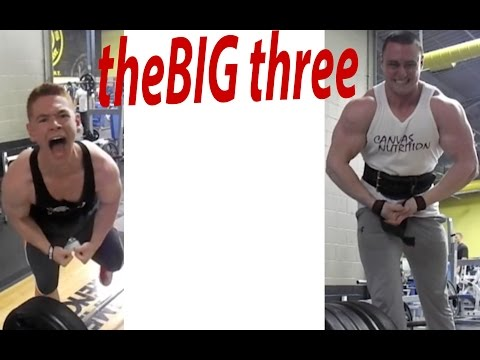 The big three PR's and form education