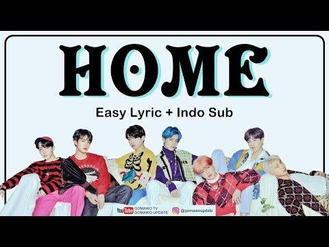 Easy Lyric BTS - HOME By GOMAWO [Indo Sub]