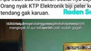 LAGI TRENDING TOPIC!!!!!! SE'EKOR MANUSIA YG MENGINJAK AL QUR'AN