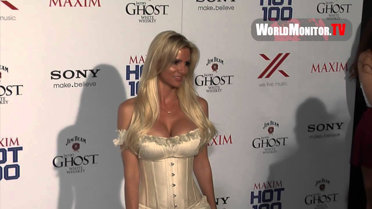 Supermodel April Rose Too Hot For Maxim 100 Party In Hollywood