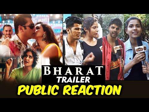 BHARAT Trailer | PUBLIC REACTION | Salman Khan | Katrina Kaif