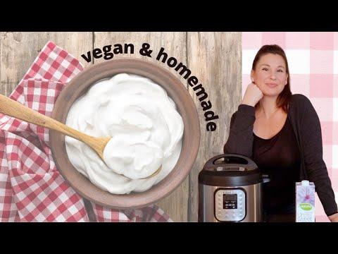 INSTANT POT Vegan Yogurt! How to Make EASY, Healthy and Inexpensive Vegan Yogurt!