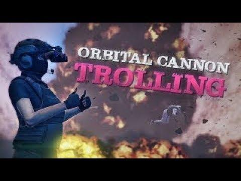 GTA 5 Orbital Cannon Vs Tryhard : Rage Quit !!!!!