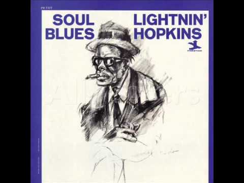 Lightnin' Hopkins ‎– Soul Blues [Full Album]