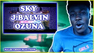 LATIN POP REACTION!  Karma OZUNA J BALVIN REACTION Sky J.| 2018 LATIN MUSIC