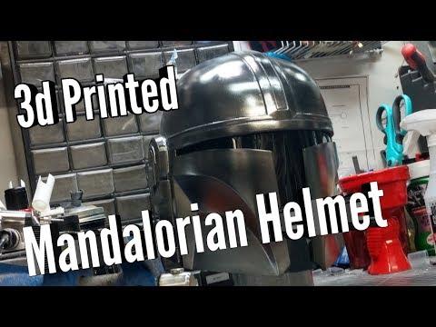3d Printed Mandalorian Helmet